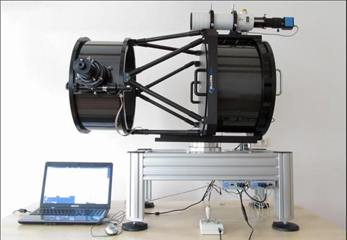 Remote detection telescope